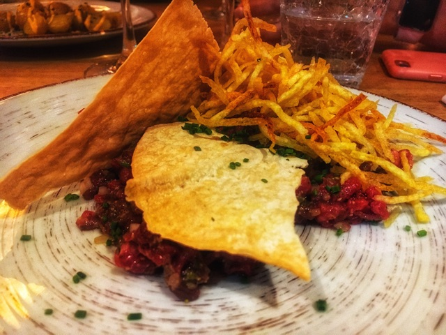 Steak tartar de vaca