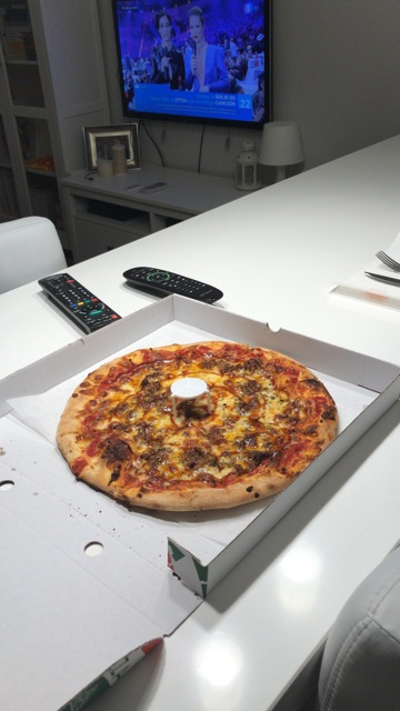 Pizza canibal