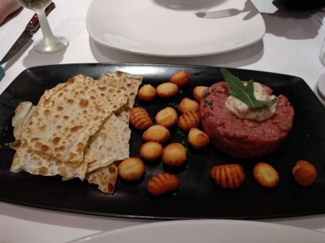 Steak tartar italiano