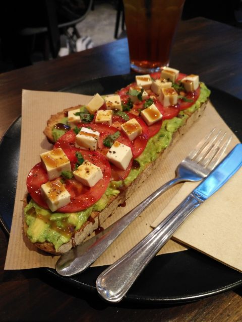Tosta con aguacate