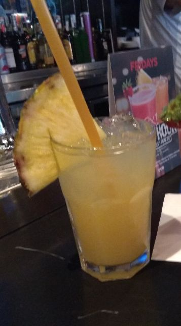 Pineapple Sunshine Cocktail