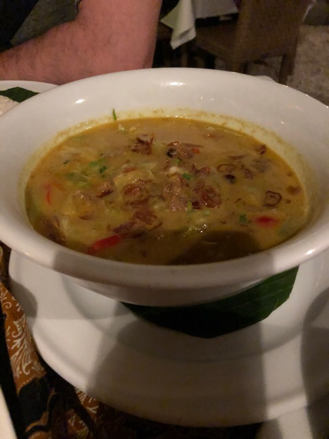 Curry Indonesio con cordero