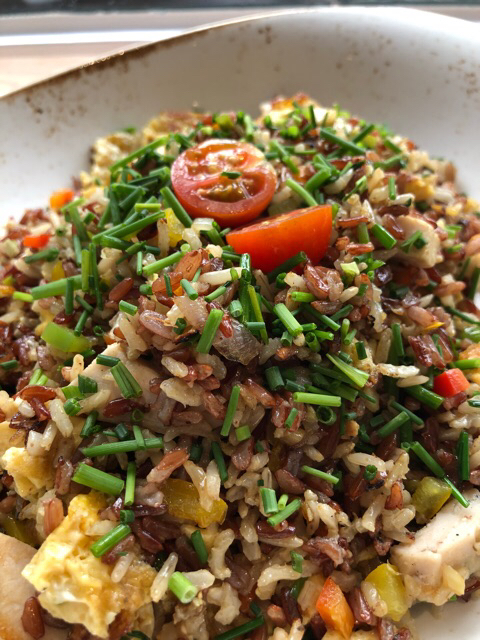 Arroz chaufa fit