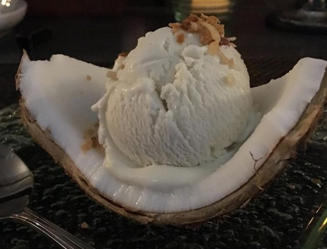 Coconut on coconut