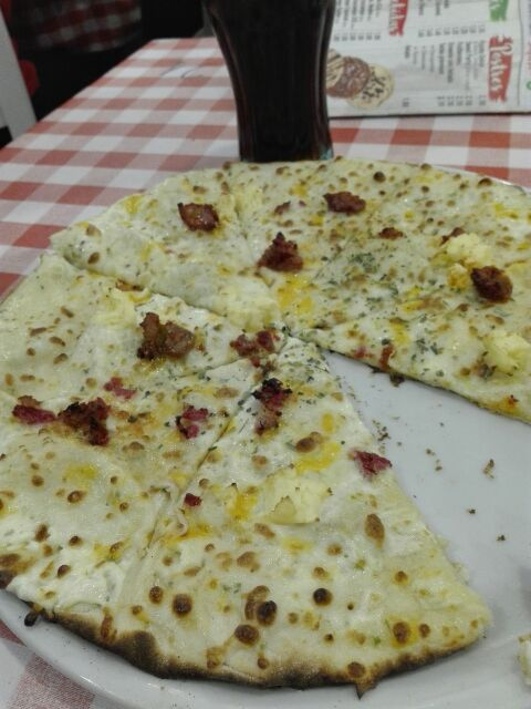 Pizza pata negra