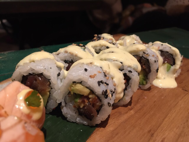 Rollo spicy tuna