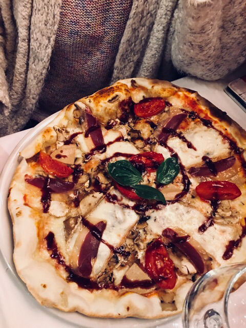 Pizza di foie