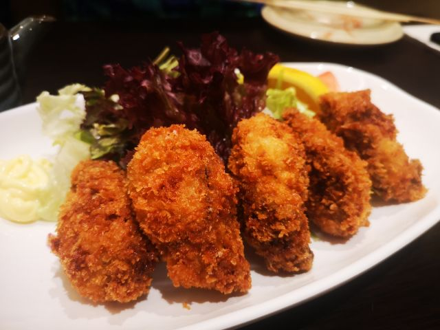 Deep Fried Oyster
