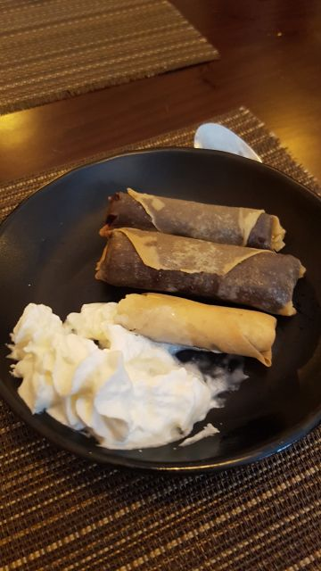 Rollitos de Chocolate