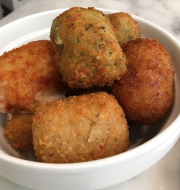 Croquetas de curry de pollo