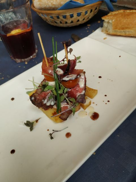 Brocheta de ternera