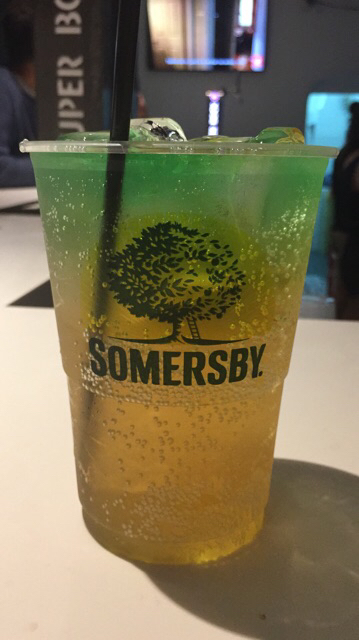 Somersby com absenta
