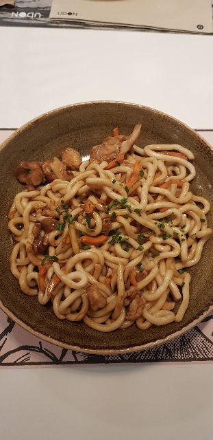 Chicken Yakiudon