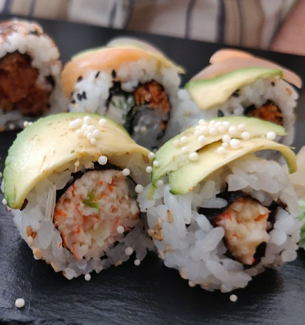 California con cangrejo roll