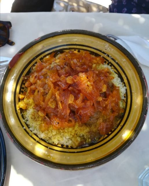 Couscous Tfaya chicken