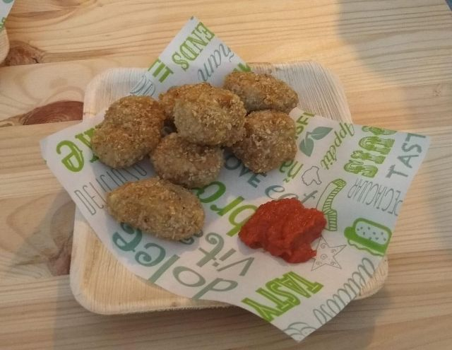 Nuggets de no-pollo