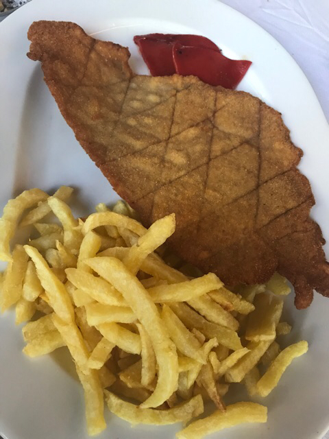 Escalope de ternera