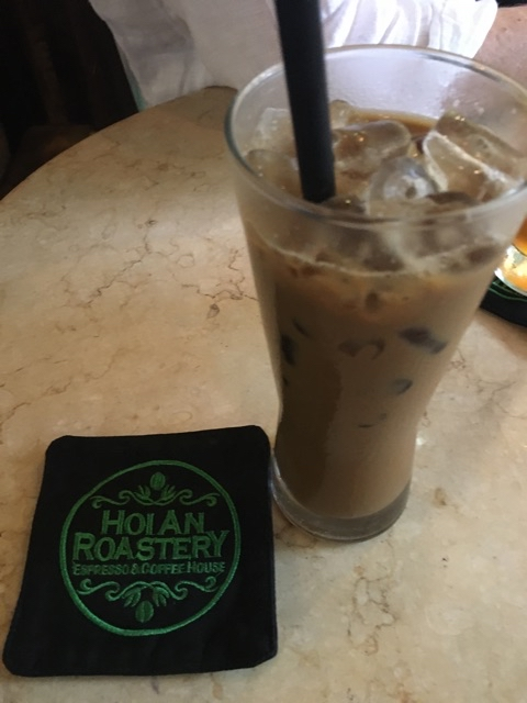 Iced Vietnamese coffee with milk