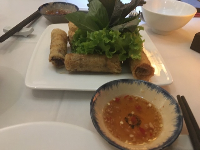 Hue style fried spring rolls