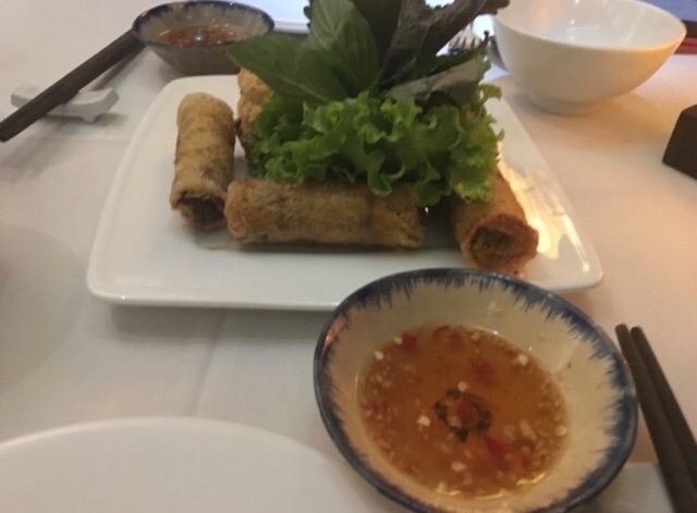 Hue style spring rolls