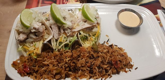 Sonora chicken tacos