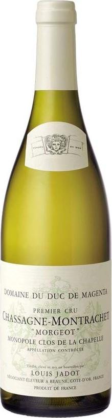 Produktbild på Chassagne Montrachet Premier Cru Morgeot Clos de l