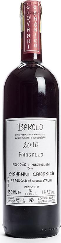 Produktbild på Barolo Paiagallo