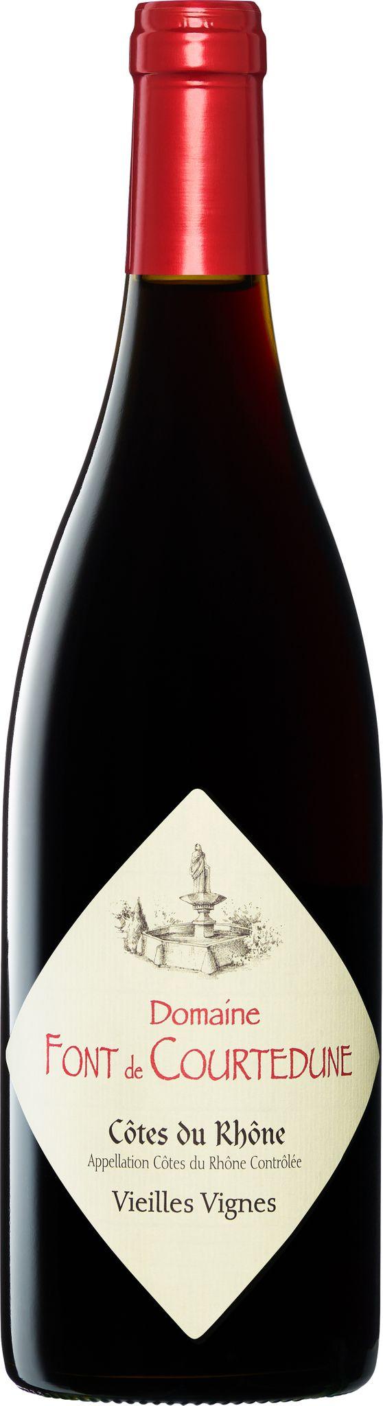 Produktbild på Côtes-du-Rhône Vieilles Vignes