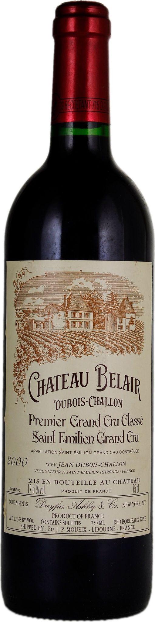 Produktbild på Château Bélair-Monange