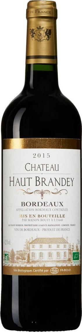 Produktbild på Château Haut Brandey