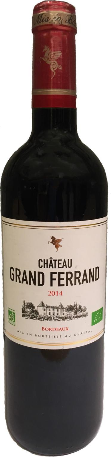 Produktbild på Château Grand Ferrand