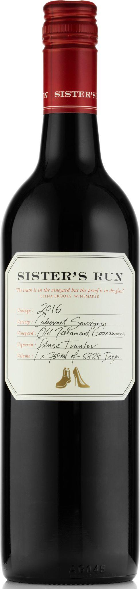 Produktbild på Sister's Run Old Testament Coonawarra