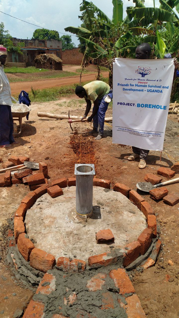 water charity project