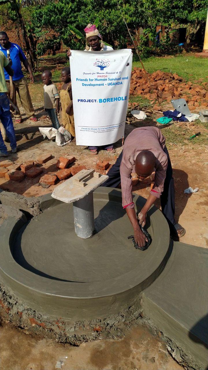 artisan borehole well